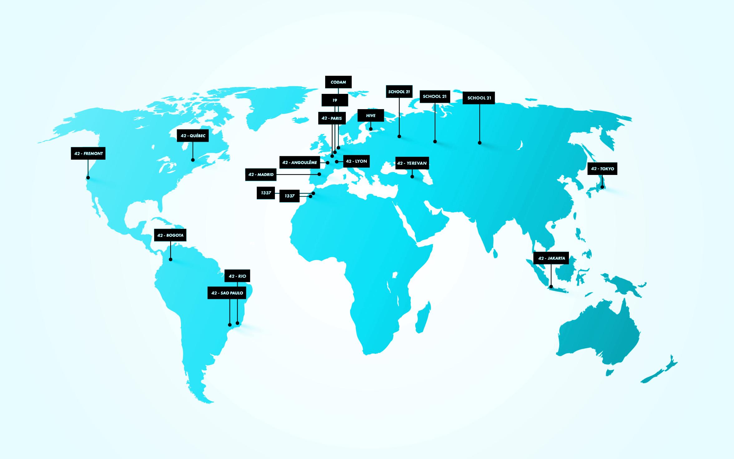 Una red internacional